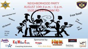 NEIGHBORHOOD BLOCK PARTY @ 5520 Cunningham Road   Rockford   Illinois   United States