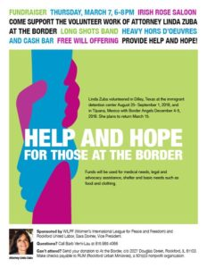 Help and Hope for Those at the Border @ Irish Rose Saloon