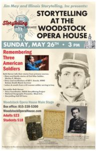 Remembering Three American Soldiers - Storytelling in Woodstock @ Woodstock Opera House